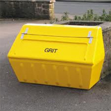 Yellow Grit Bins